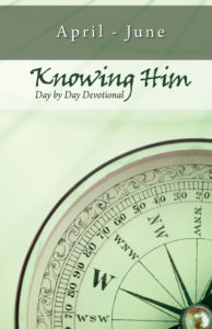 Day By Day Devotional: April - June