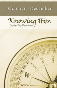 Day By Day Devotional: October - December